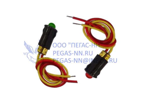 Лампы индикаторные WL-04 12В (желтый, красный, зеленый, синий)